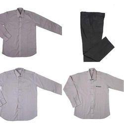 Grey Cotton Stylish Corporate Uniform