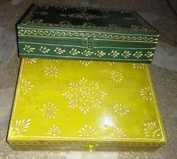 SNG Multicolor Wooden Emboss Box, For Home