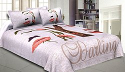 Twil Cotton Queen Size Bed Sheet