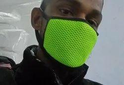 Green Net Mask