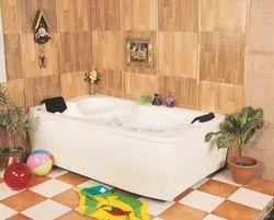 Mekong Jacuzzi Bathtub - 6'' x 3.5'' - White