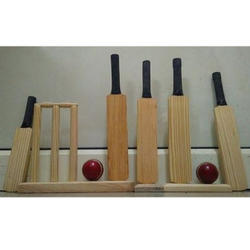 Wooden Promotional Bat Ball Set