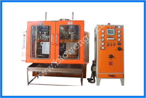 2 Ltrs. Double Station Blow Molding Machine