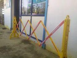 Expandable PVC Barricade