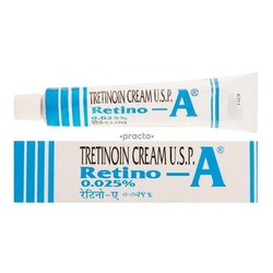 Retino A Tretinoin Cream for Personal, Packaging Size: 20gm