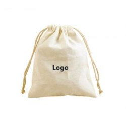 Small Organic Cotton Pouch