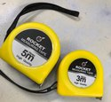 Rocket Pair Of 3 & 5 Mtr Measuring Tapes