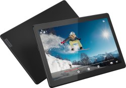 Lenovo Tab M10 (HD) 32 GB 10.1 inch with Wi-Fi  4G calling Tablet (Slate Black)