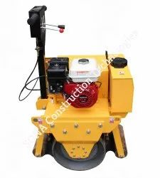 Single Drum Roller With Petrol Engine