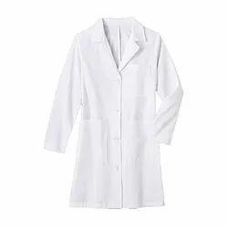 White Cotton Lab Coat