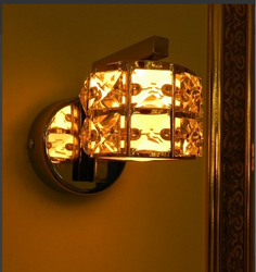 LED Multicolour Crystal Lamp, 5 Watt
