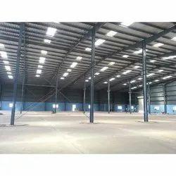 Modular Mild Steel Warehouse Shed Fabrication Service