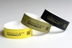 Impressions Non Tearable Sheet Screen Printed Tyvek Wristbands, Size: 1 Inch X 10 Inch