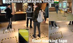 Zebra Floor Marking Tape