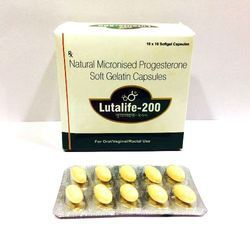 Natural Micronized Progesterone 200 Mg Soft Gel