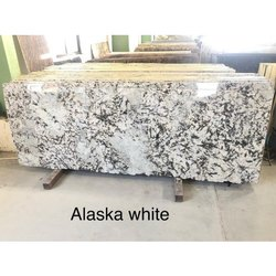 Polished Slab Alaska White Granite, Floor,Wall & Counter Top Etc., Thickness: 15-20 MM