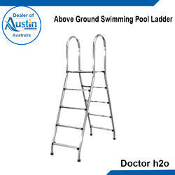 Swimming Pool Ladders - Above Ground Swimming Pool Ladder ...