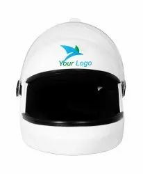 Vega ABS White Helmet, Size: Free Size, Packaging Type: Box