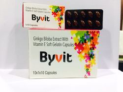Ginkgo Biloba Extract With Vitamin E Soft Gelatin Capsules