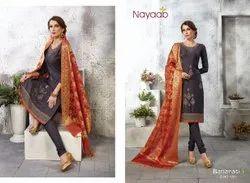 Nayaab Banarasi Designer Suit