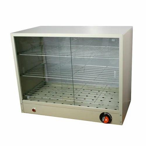 Mild Steel Jumbo hot case 3 shelves