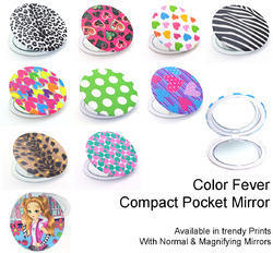 Color Fever Dual Magnifying Compact Mirror