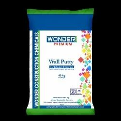 White Wonder Care Premium Wall Putty, Packaging Type: Bag, Packing Size: 40 Kg
