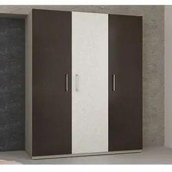 Arancia Plywood Three Door Wooden Wardrobe