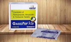 Pantoprazole 40 mg, Amoxicillin 750 mg &  Tinidazole 500 mg