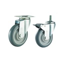Polyurethane (PU Grey) Caster Wheels