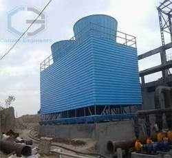 Round Bottle Frp Counterflow Cooling Towers