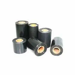 Black Wax Barcode Ribbon