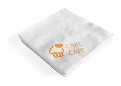 The Paper Company Printed Paper Napkins, Size: 40x40 cm, GSM: 17