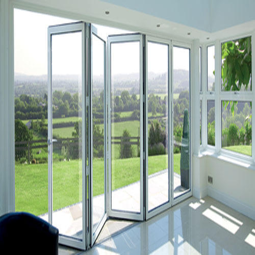 Closet Stainless Steel Upvc Folding Sliding Door Rs 700