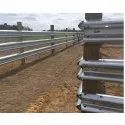 W-Beam Crash Barrier