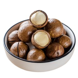 Macadamia Nuts Salted And Roasted Organic Shelled