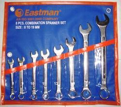 Combination Spanner (Raised Panel) SET OF 8 E-2405