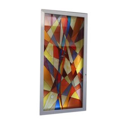 Resin Hand Painted Glass, Size: 6 Mm