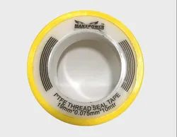 Double Sided White Manxpower Teflon Tape 19 mm, For Sealing, Packaging Size: 100 Pieces
