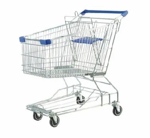 Shopping Trolley & Baskets - Housing Society Trolleys Manufacturer from  Mumbai