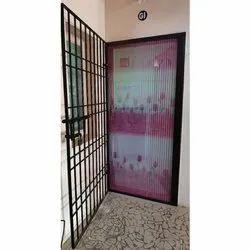 Mosquito Net Sliding Door