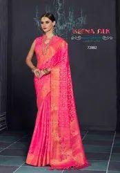 Weddding Wear Fancy Saree