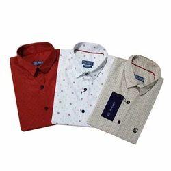 Party Wear Mens Stylish Printed Shirts