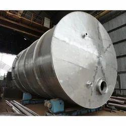 Silver SS Storage Tank