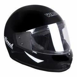 Black Virgo Airzed Full Face Helmet, Size: Large