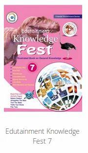 Edutainment Knowledge Fest 7, 6-8 Class Books   Padam Plaza