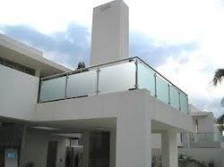Etching Glass Handrail