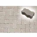 Cement Outdoor Zig Zag Interlocking Tiles, Thickness: 40 Mm