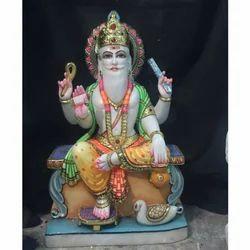 Marble God Wishkarma Statue