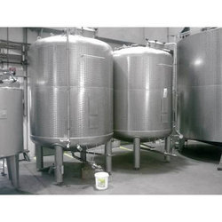 Sugar Syrup Tanks